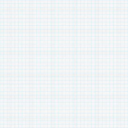 Graph paper in 1 mm Stock Illustratie