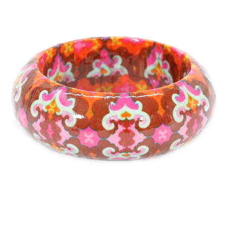 cuff bracelet: Luminoso Paper Mache Bangle