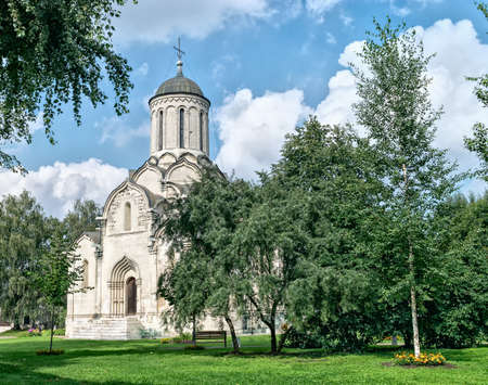spassky: Spassky Cathedral of Andronikov monastery in Moscow, Russia.