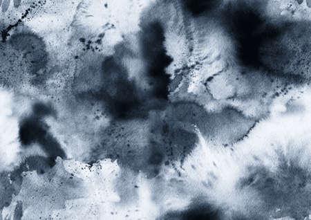 Hand bemalt Tinte nahtlose Muster mit abstrakten Galaxie, Raum, Himmel, Rauch. Standard-Bild - 70164072