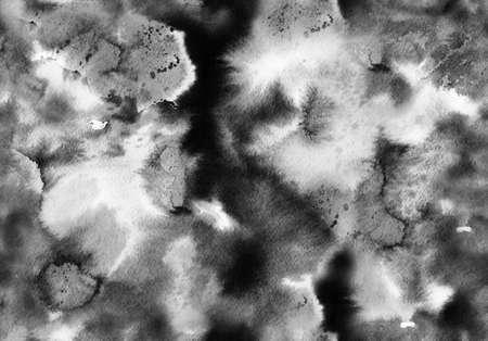 Hand bemalt Tinte nahtlose Muster mit abstrakten Galaxie, Raum, Himmel, Rauch. Standard-Bild - 83138844