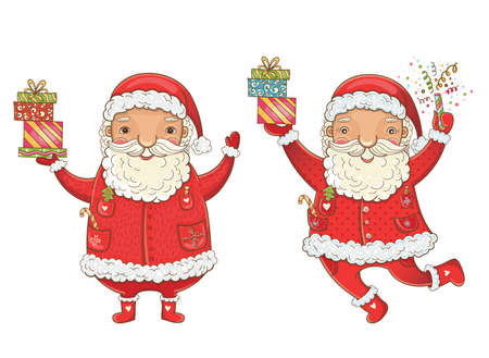 Kerstkaart ontwerp. Stock Illustratie