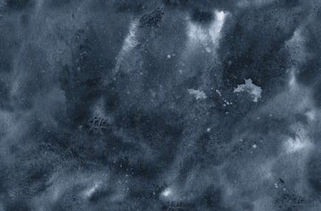 Watercolor abstract seamless background in monochrome gamma.
