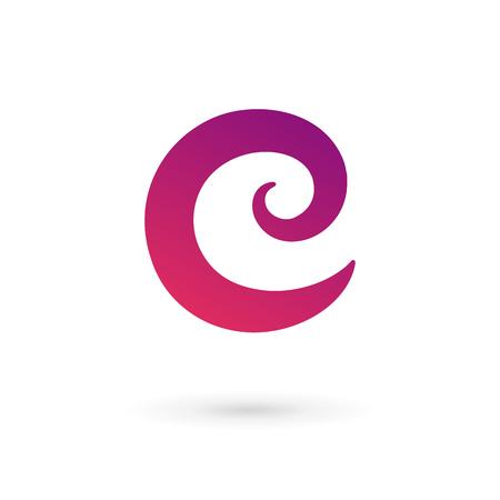 Icônes, logos éléments Lettre C de modèle de conception. Vecteur couleur signe.