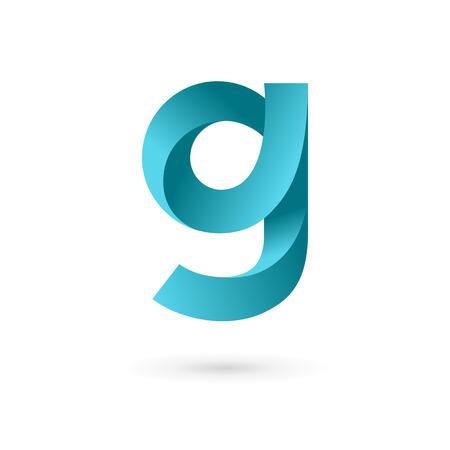 g: Letter G logo icon design template elements. Vector color sign.