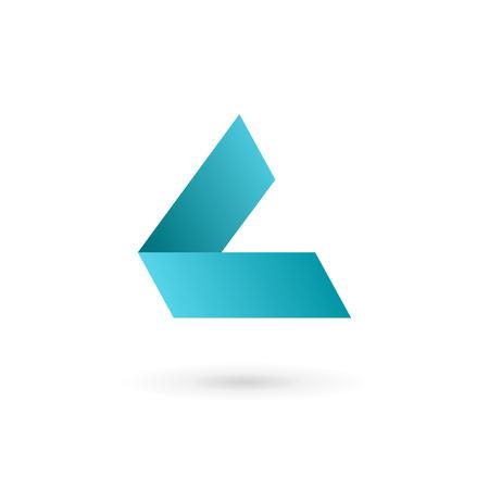 l: Letter L logo icon design template elements