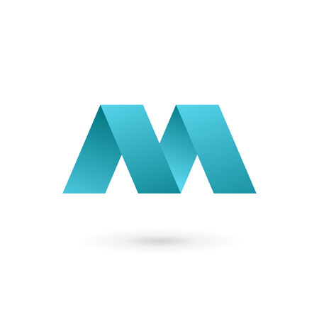 Letter M logo icon design template elements Banco de Imagens - 32594481