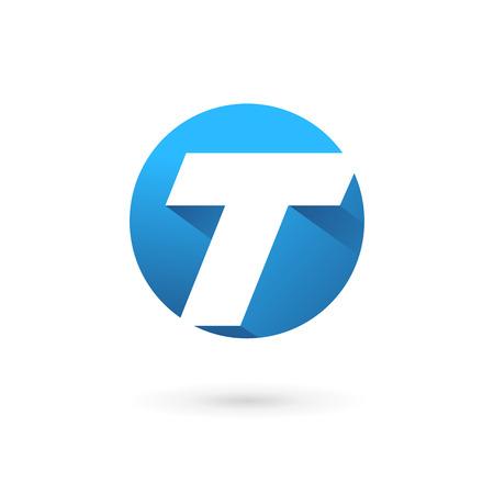 Icônes, logos éléments Lettre T de modèle de conception Banque d'images - 33511607