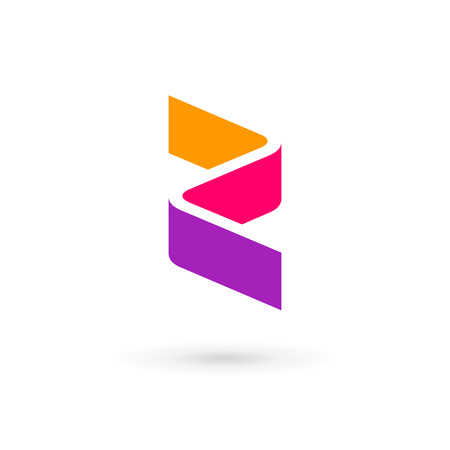 Letter Z logo icon design template elements Ilustracja