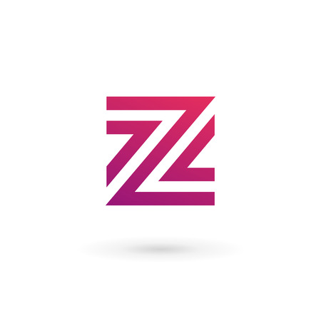 Letter Z logo icon design template elements Vector
