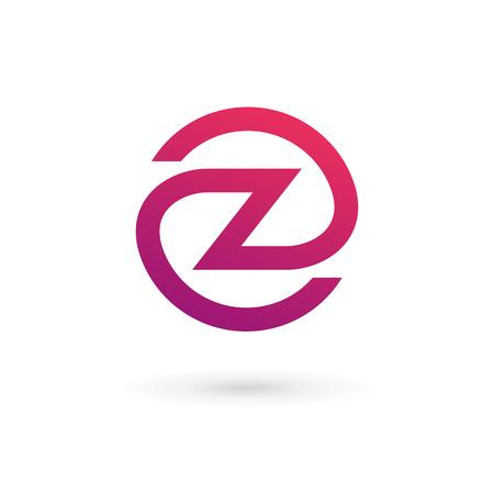 letter z: Letter Z logo icon design template elements Illustration