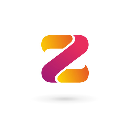 Letter Z logo icon design template elements Illustration