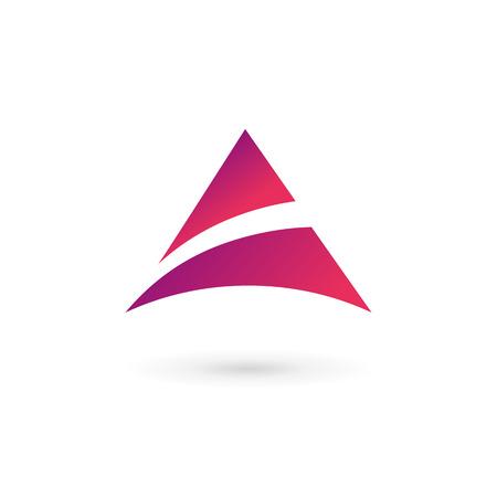 elementos: Abstract logo icono elementos de plantilla de dise�o con la letra A