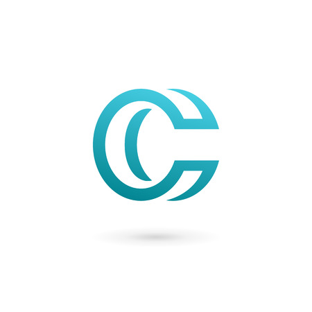 business letters: Letter C logo icon design template elements Illustration