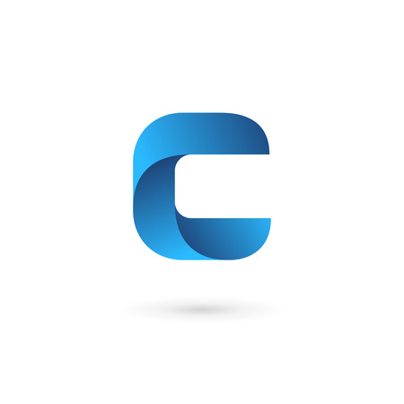 element: Letter C logo icon design template elements Illustration