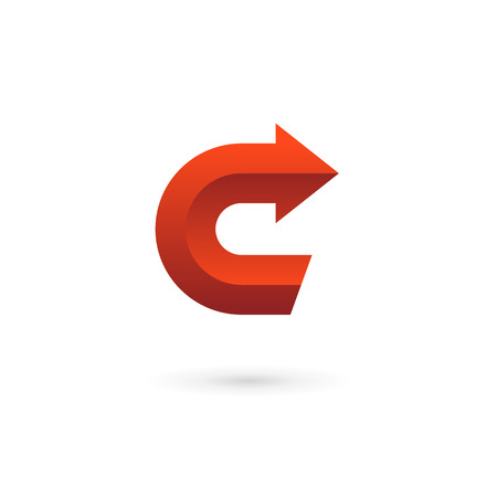 c design: Letter C logo icon design template elements Illustration