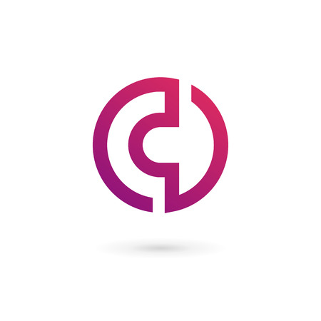 abstract logos: Letter C logo icon design template elements Illustration