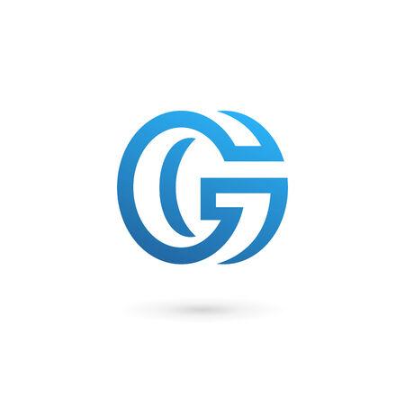 letter g: Letter G icon design template elements