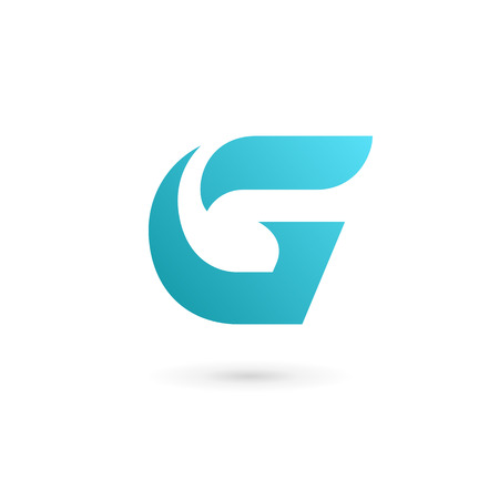 logo element: Letter G icon design template elements