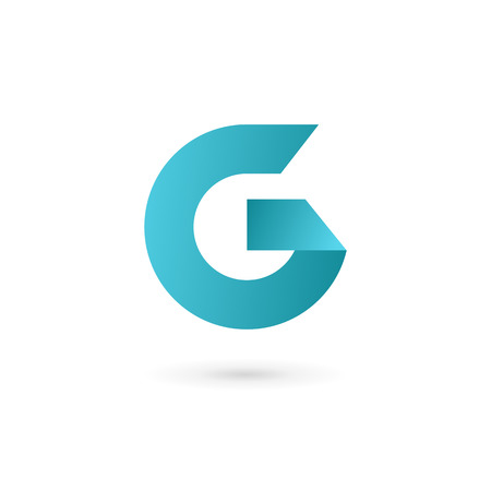 Letter G icon design template elements