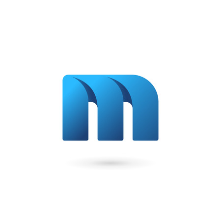 logo letter: Letter M logo icon design template elements