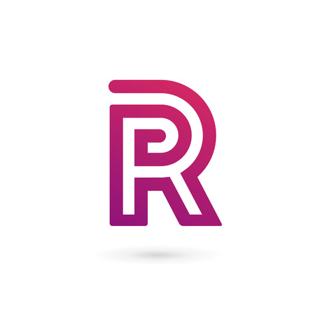 Letter r logo stock photos royalty free letter r logo images letter r logo icon design template elements illustration thecheapjerseys Image collections