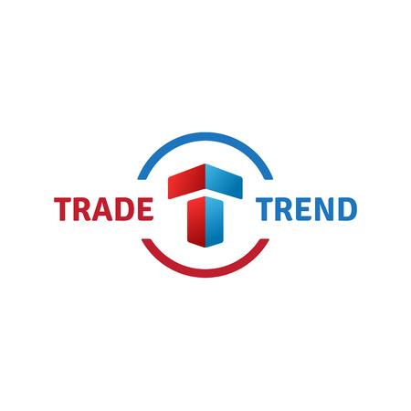 Letter T logo icon design template elements Stock Illustratie