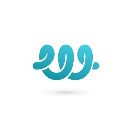 Letter W logo icon design template elements Illustration