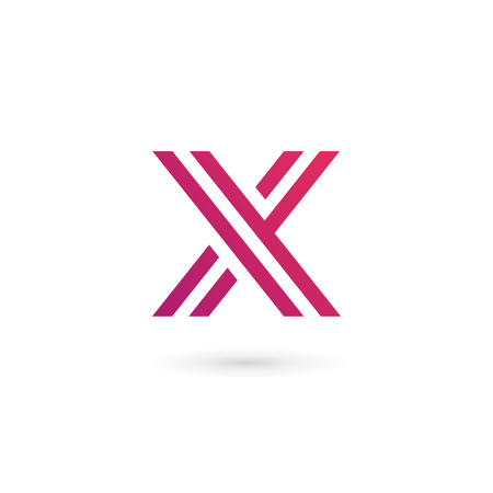 letter x: Letter X logo icon design template elements
