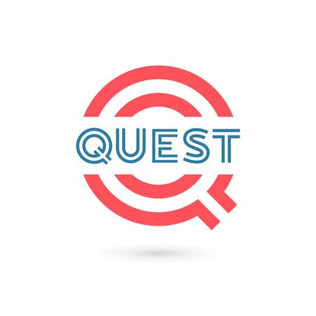 letter q: Letter Q logo icon design template elements