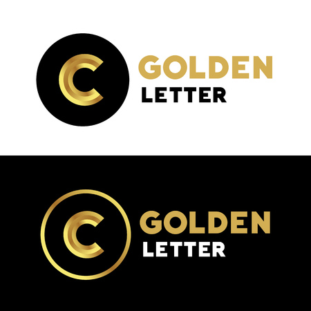 letter: Letter C logo icon design template elements Illustration