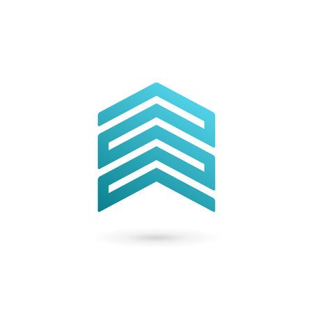 house icon: Real estate house logo icon design template elements