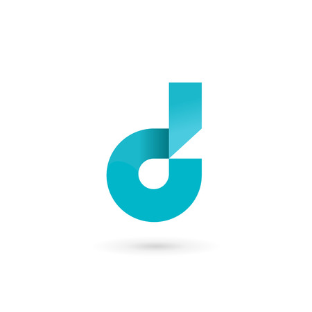 symbol icon: Letter D logo icon design template elements