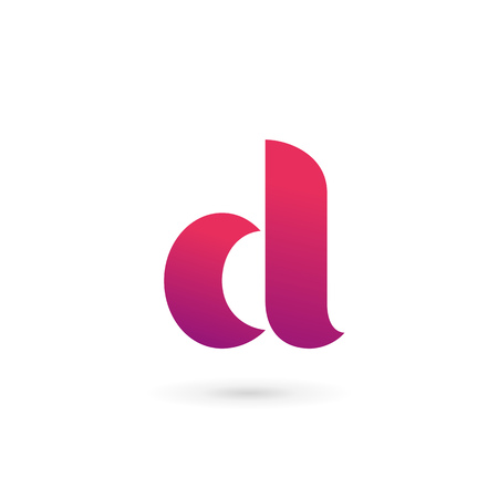 logo design: Letter D logo icon design template elements