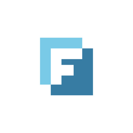 Letter F logo icon design template elements Logo