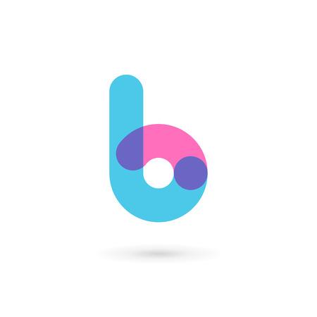 elemento: Lettera B Elementi del modello di logo design icon