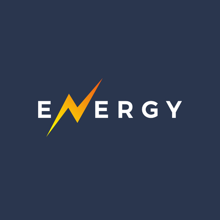 Letter N energy icon design Illustration