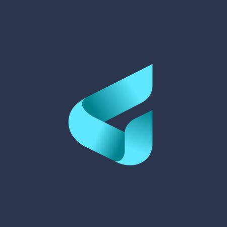 Letter G logo icon design template elements Logó