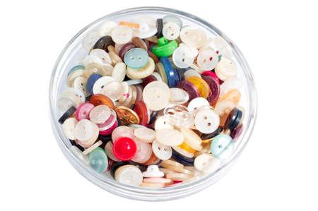 Buttons Needlework Stock Photo