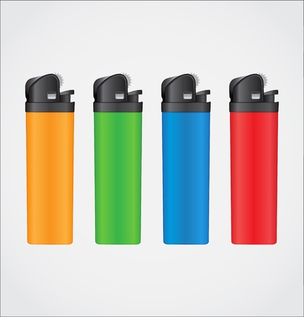lighters Stock Vector - 13163063