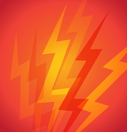 background with lightnings Vector