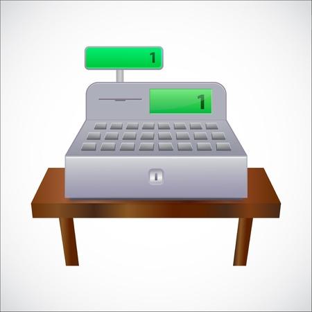 Cash register Illustration