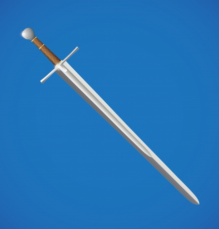 sword illustration Vector