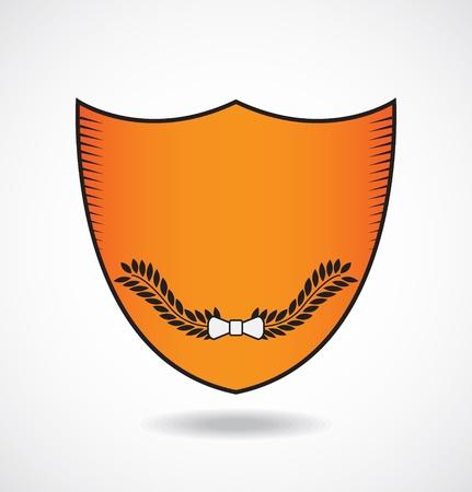 Logo template  shield emblem