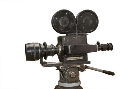 camara de cine: c�mara profesional anal�gica vieja pel�cula. la grabaci�n de v�deo. la creaci�n de pel�culas y documentales