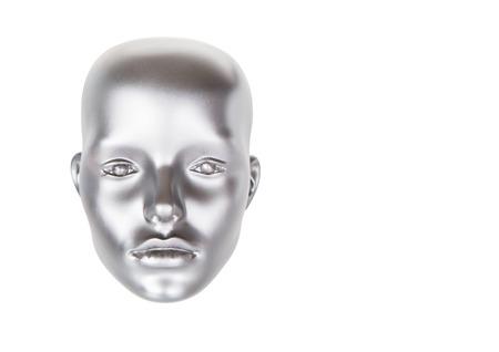 mannequin head: mannequin head