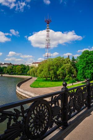 minsk: Telecommunication tower in Minsk, Belarus, technology Editorial
