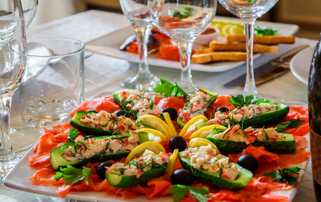 Salad Decoration Stock Photos And Images 123rf
