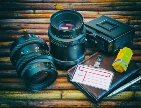 two old photographic lens close-up, photography, equipment, 13/05/2016, editorial