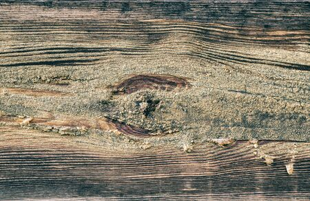 Creative image of wood texture with natural pattern. Abstract background, blank template. Retro style Foto de archivo